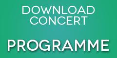 2016 Concert 3 programme